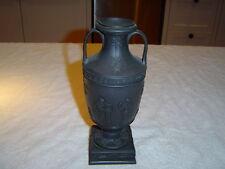 "wedgwood basalt vase, 8 3/4"""