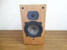 B&W model DM22 vintage bookshelf speaker wood grain finish - only one speaker