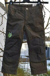 ELKLINE KALTMEISTER 2 Gr.104/110 mud Winter Outdoor Thermo Hose gefüttert NEU!