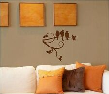 Birds on Tree Limb Wall Sticker Wall Art Decor Vinyl Decal 14x13