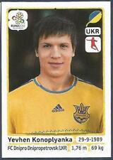 PANINI EURO 2012- #416-UKRAJINA-UKRAINE-DNIPRO DNIPROPETROVSK-YEVHEN KONOPLYANKA