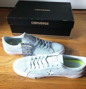 NEW Converse One Star OX Suede Men Skate Lo Top Blue/White 153963C S 11 LUNARLON