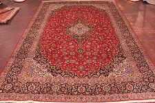sherkat kashani Cork Lana FIRMADO Alfombra Persa Alfombra Oriental 4,83 x 3,43
