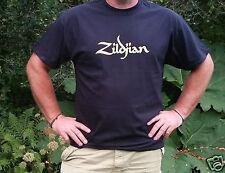 """Platillos Zildjian """"T-shirt tamaño'S/M/L/XL/XXL platillos/Tambores/percusión"""