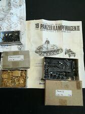 Maquette 1 /76 PANZER KAMPFWAGEN II fabricant NITTO