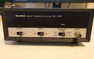 HEATHKIT IM-2410 DIGITAL FREQUENCY COUNTER