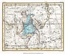 Astronomy Celestial Atlas Jamieson 1822 Plate-09 Art Paper or Canvas Print