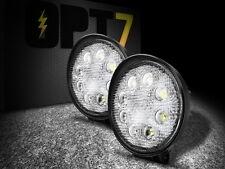 OPT7 Pair LED Work Spot Light 2x Off Road Round Lamp 24w ATV Utility Truck SUV