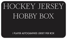 NHL - Jersey Collection - 1 Authenticated Player Signed Hockey Jersey per box