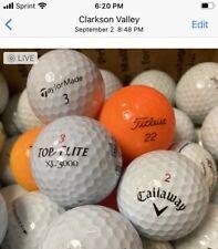 101 Golf Balls Good Used Assorted Brands Mint or Near Mint Grade AAAA
