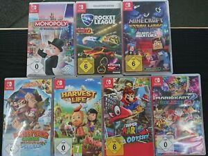 Nintendo Switch Spiele (Auswahl aus verschiedenen Titeln, ...)