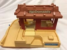 Fisher-Price Little People 1989 McDonald's playset #2552, Restaurant Only