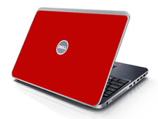 RED Vinyl Lid Skin Cover Decal fits Dell Inspiron 15R N5010 Laptop