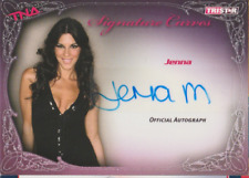 Jenna Morasca 2009 Tristar TNA autograph auto card KA9