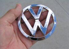 VW VOLKSWAGEN 90mm BADGE Chrome Emblem * NEW FACTORY 2ND *