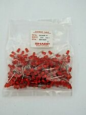 1000 Sharp Red 5mm Round Leds Diffused High Quality Light Bulb Usa Led Gl5hd8