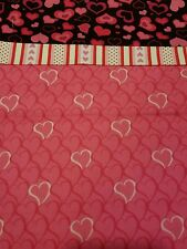 Embroidered Personalized STANDARD Pillowcase Hearts