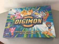 VINTAGE#DIGIMON BANDAI BOARD GAME OFFICIAL GIOCO DA TAVOLO SOCIETA' #SEALED