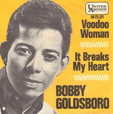 "BOBBY GOLDSBORO – Voodoo Woman (1965 VINYL SINGLE 7"" DUTCH PS)"