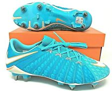 Nike Hypervenom Phantom 3 SG PRO Womens Soccer Cleats Blue Size 8.5 881550 415