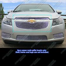Fits 2011-2014 Chevy Cruze Main Upper Billet Grille Grill Insert