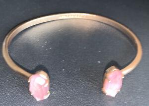 Kendra Scott gold/pink stone elmms bracelet