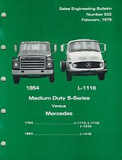 INTERNATIONAL VINTAGE S-SERIES COMPETETIVE COMPARE TRUCK  PRODUCT BULLETIN 79 X