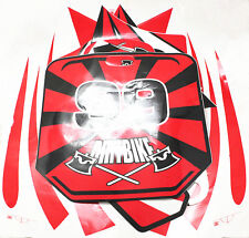 50cc 70cc 90cc 110cc 125c Dirt Bike Body Red Decal Set (sticker set) FREESHIP