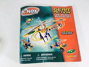 K'NEX Parts - Instructions - Gear Action 20 Model Building Set - KNEX - Spare