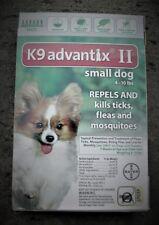 Advantix II Small Dog 4 - 10 lbs 6 Pack 100% GENUINE!!! U.S. EPA APPROVE!!!