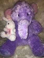 28 inch Disney Store Winnie the Pooh Heffalump Lumpy Plush Stuffed Toy & rabbit