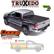 TruXedo Soft Roll Up Tonneau Bed Cover Fits 2016-2021 Toyota Tacoma 5FT Bed