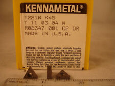 T 221N K45 KENNAMETAL Carbide Inserts (10pcs) 883