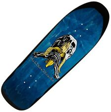 "BLIND ""Skull & Banana"" Gonz Skateboard Deck 9.875"" BLUE 1991 Transfer Gonzalez"