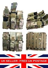 Triple Mag Pouch with Pistol Mag Multicam MTP ATP Molle Airsoft Webbing Tactical