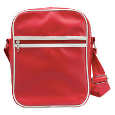 Retro PVC Shoulder Bag Cross Body Bag Zipped iPad Tablet Case Work College SALE