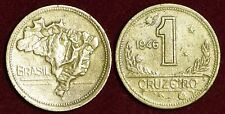 BRAZIL Brasil Brésil 1 cruzeiro 1946