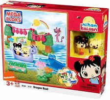 Ni Hao Kai Lan Dragon Boat from Mega Bloks  ~ 30 Piece Set ~ NEW IN BOX