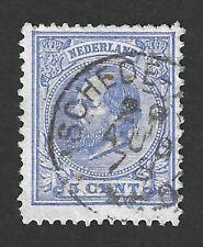 Nederland 1872 NVPH 19H met kleinrond(takje)stempel ENSCHEDE - ALMELO 29 AUG 78