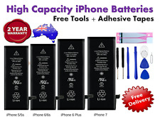 iPhone 6 6S 7 PLUS 8 5 SE 5C X High Capacity Battery Replacement Tools For Apple