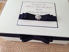 Personalised Wedding Party Mother Of The Bride/Groom Keepsake Box Memory Box