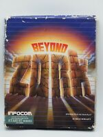 Infocom BEYOND ZORK, complete in box 1987 Atari ST, Vintage Big Box, CIB