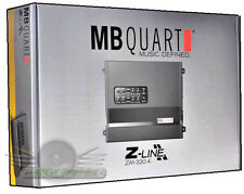 MB Quart ZA1-320.4 320W 4-Channel Z-Line Series Class SQ A/B New Car Amplifier