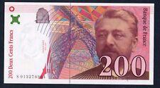 RARISSIME BILLET NEUF DE 200 FRANCS EIFFEL 1996 SANS STRAP @ ERROR @ BANKNOTE