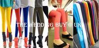Women Ankle Length Cotton Candy Colors Slim Pencil Pants Skinny Stretch Leggings