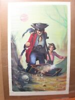 treasure Island Vintage Poster 1970's Inv#G3281