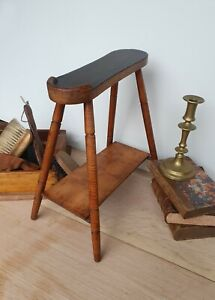 Antique Butlers Shoe Shine Boot Stand