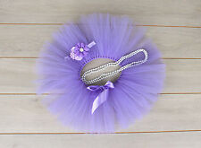 Cake Smash Outfit - First Birthday Tutu Set -Photography Photo Prop - Lavender