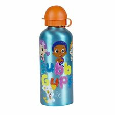 Bubble Guppies Aluminum Water Bottle for Kids [Blue]