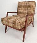 Mid Century Modern Walnut Lounge Chair  5384 NJ